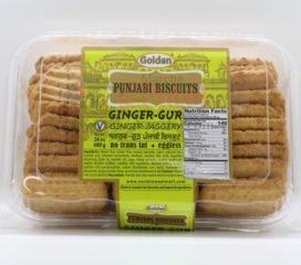 Surati Golden Panjabi Biscuits Ginger Gur