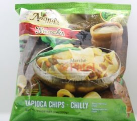 Amma's Kitchen Tapioca Chips chilly