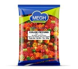 Megh Color Fryums