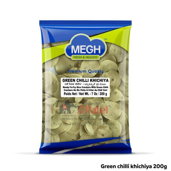 Megh Green chilli khichiya