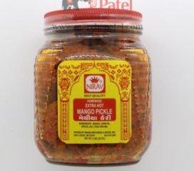 Nirav Extra Hot Mango Pickle