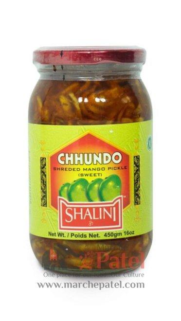 Shalini Chhundo Shredded Mango Pickle