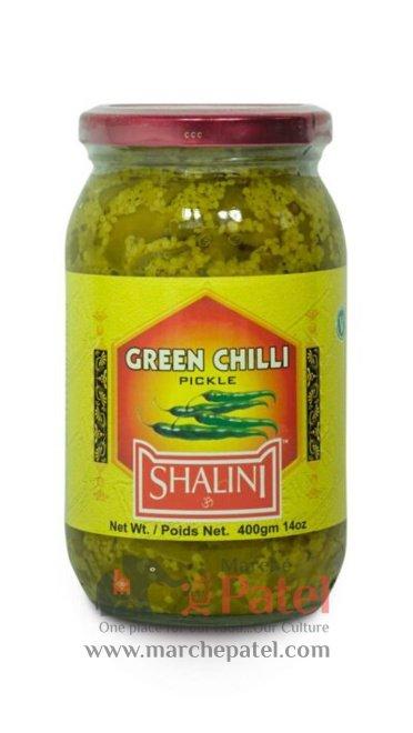 Shalini Green Chilli Pickle