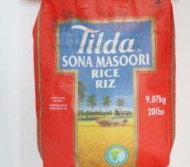 Tilda Sona Masoori Rice