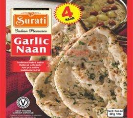 FRZ Garlic Naan