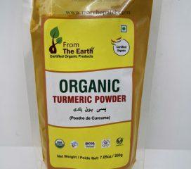 FTE Organic Turmeric Powder