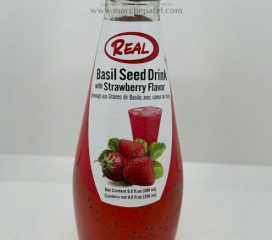 Deep Basil Seed Drink Strawberry Flavour