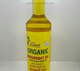 Organic Groundnut Oil