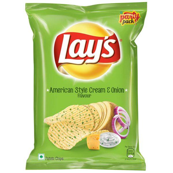 Lays American Style Cream & Onion