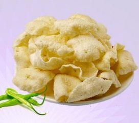 Green Chilli Rice Papadi Khichiya Papad