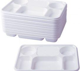 Plastic 6 section dish Image