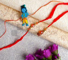 Adorable Bhaiya Bhabhi Rakhi Set