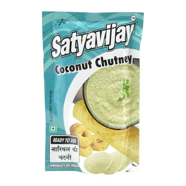 Satyavijay Coconut Chutney